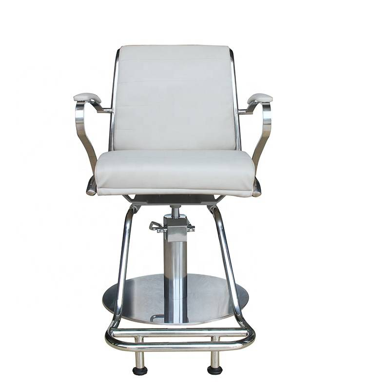 Portable hydraulic reclining parlour hairdressing chair wholesale prices cheap classic beauty barber antique salon styling chair