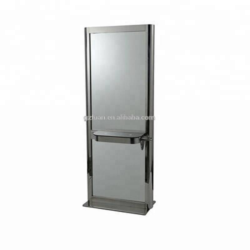 Mingyi rustproof and durable modern hairdressing beauty barber wall mounted hair salon mirrors styling stations MY-B054