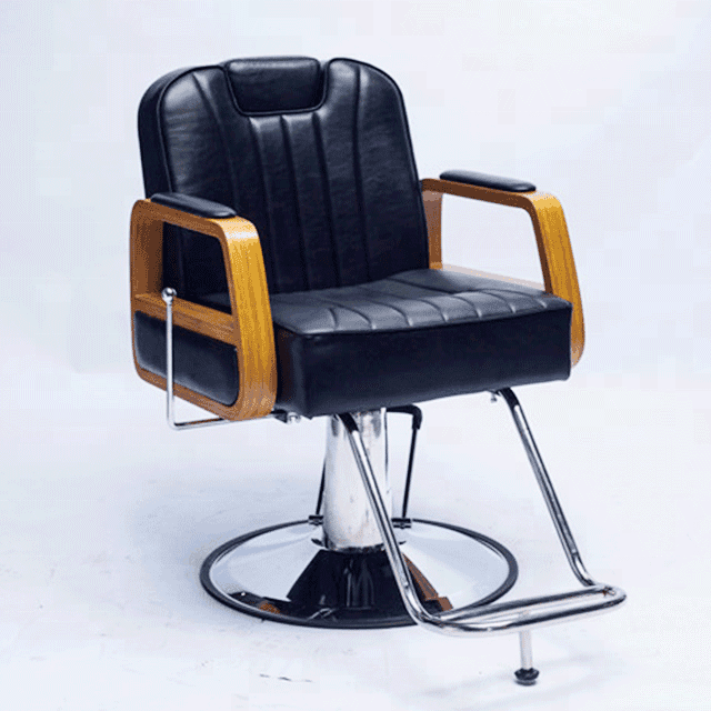 Italy style modern portable unique men used beauty salon chairs barbershop furniture hair styling chair with rclining backrest