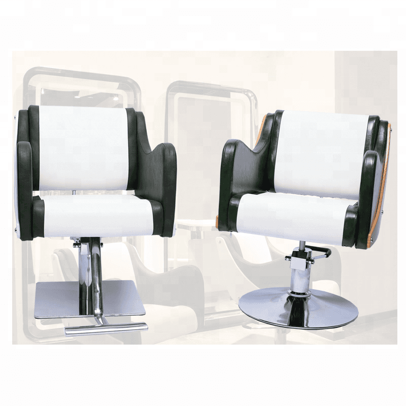 Guangzhou factory manufacturer fashion cosmetology portable barber styling chairs for sale