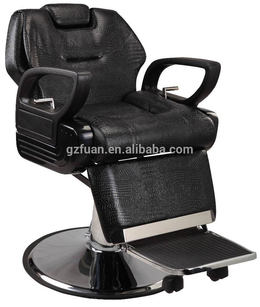 Traditional reclining salon styling barber chair of salon furniture