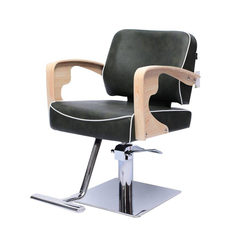 Popular price durable synthetic leather collins barber chair hair cutting chair