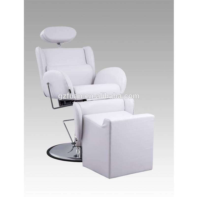Wholesale reclining hairdressing footrest man hair classic salon styling vintage barber chair for sale