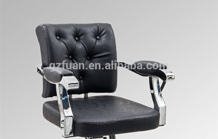 European stainless steel styling chair for makeup artist