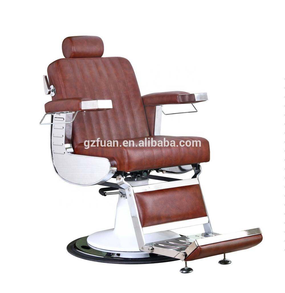 OEM ODM hot sale vintage style high density sponge armrest man's hairdressing chair beauty parlor hydraulic barber chair