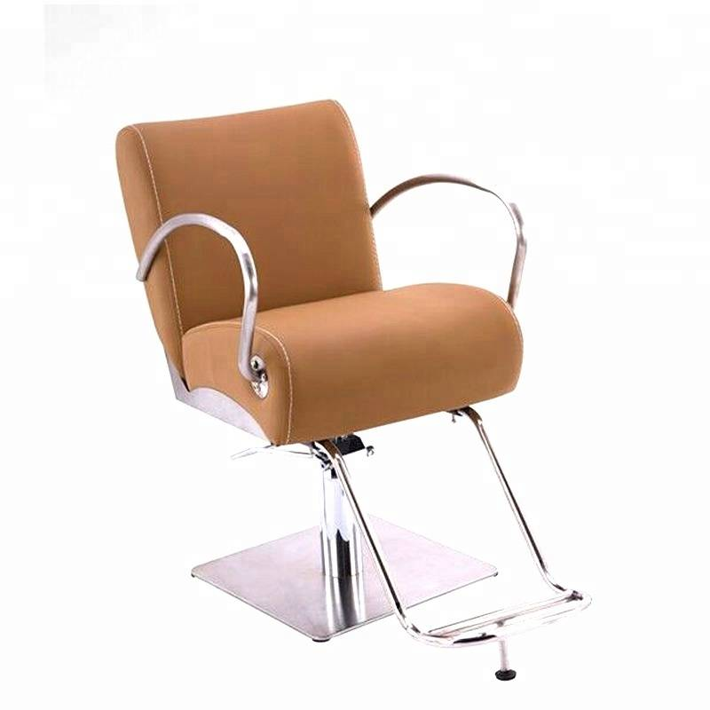 Wholesale portable hydraulic hairdresser chair salon furniture hair beauty salon barber styling chair with OEM service