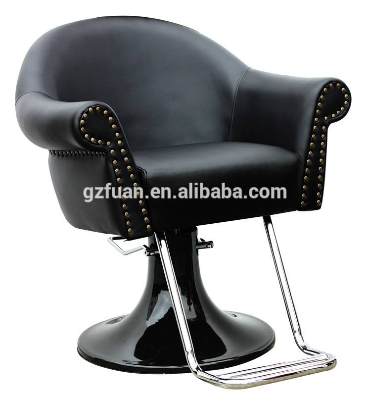 Salon furniture hydraulic popular strong used heavy duty salon barber chair for hot sale