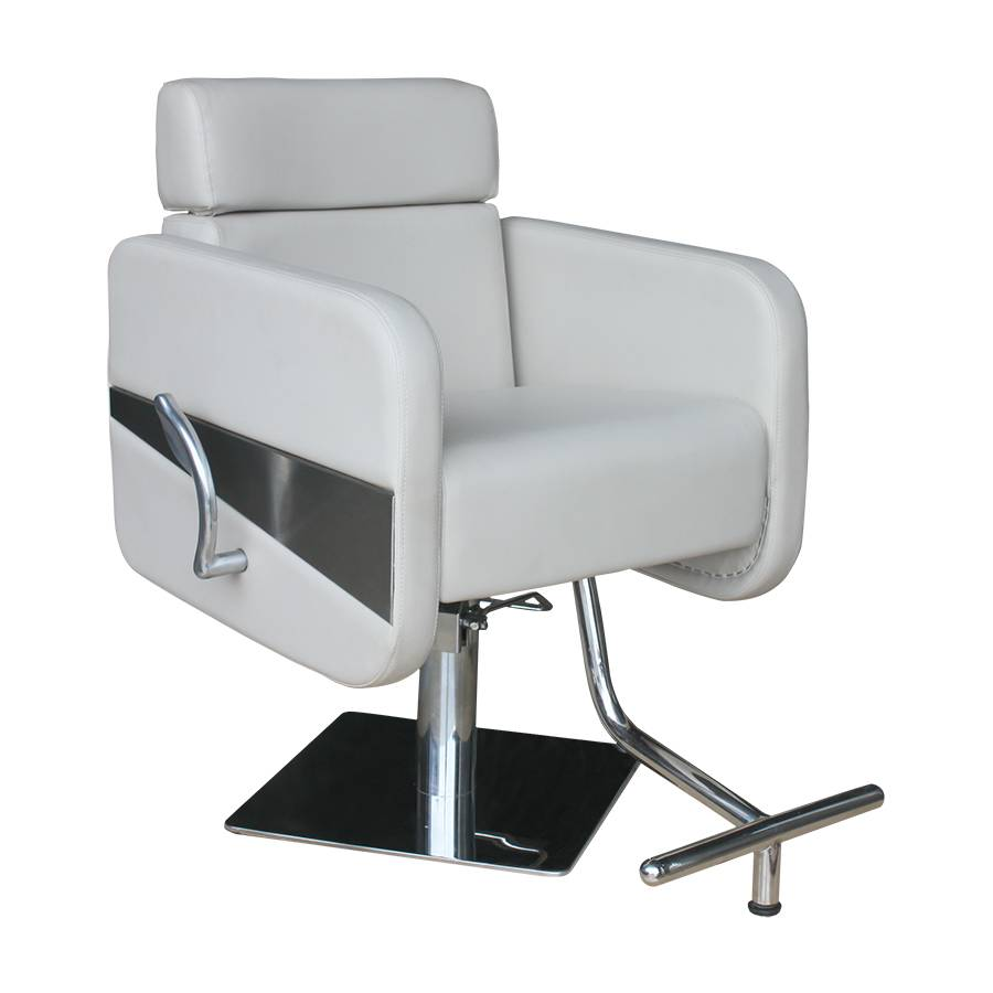 New Barber Chair White Styling Hair Beauty Salon Spa Equipment for sale