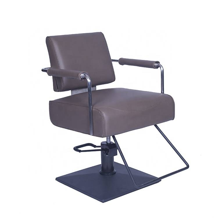 Wholesale price portable hair salon chair durable synthetic leather cheap women's hairdressing barber chair styling Chair