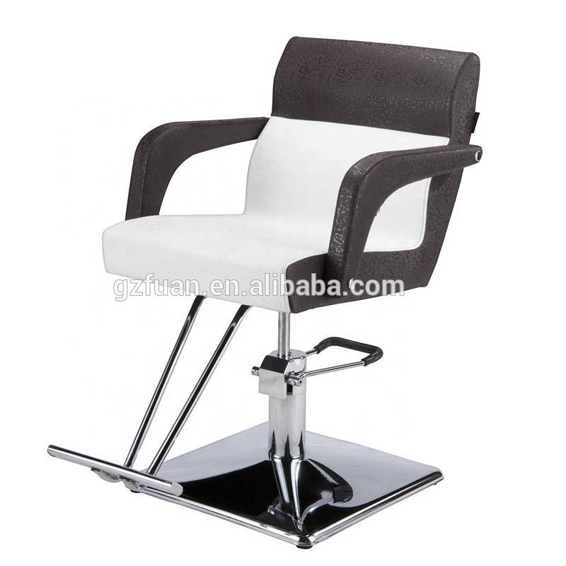 Hairdressing supplies China modern fashion design hydraulic pump hair cutting chairs price barber used hair styling chairs sale