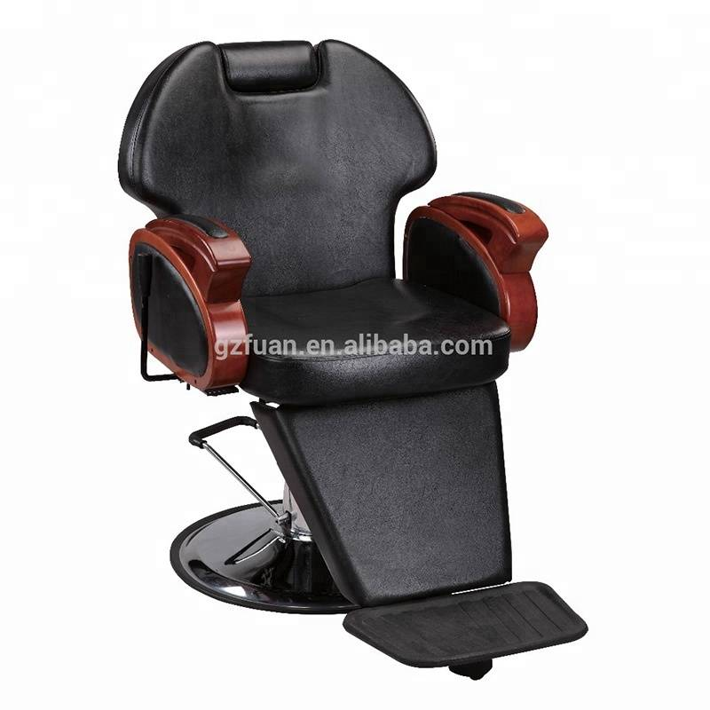 Professional barber chair hydraulic salon chair reclining styling chair manufacturer
