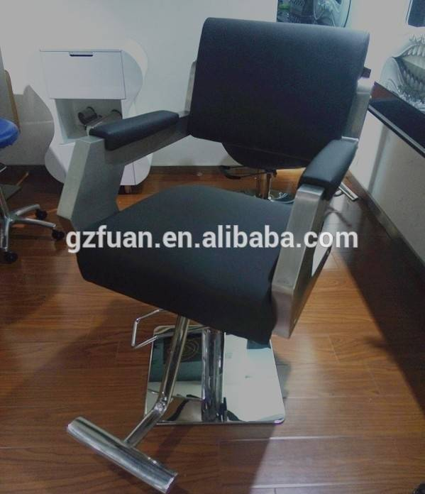 Stainless steel hair salon styling chair hairdressing chair