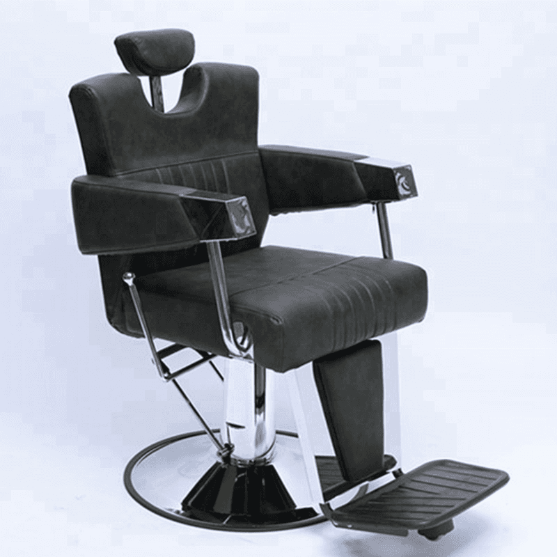 Classic antique portable salon furniture wholesale vintage reclining styling chair man heavy duty barber chair for sale cheap