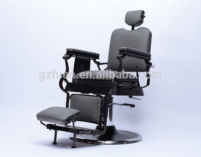 salon equipment high class exclusive stainless steel styling barber chair