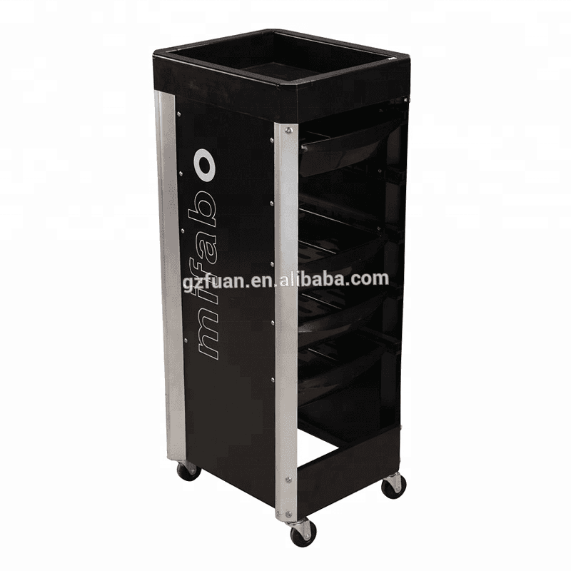 Durable beauty salon equipment hair color cheap salon trolley