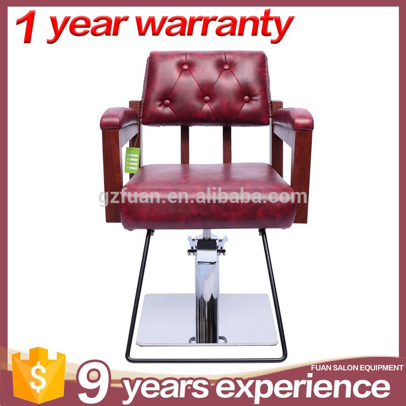 Hot sale oem popular red durable portable barber chair