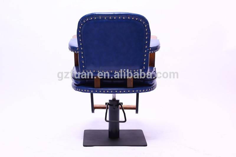 blue molding sponge synthetic leather all purpose salon chairs reclining