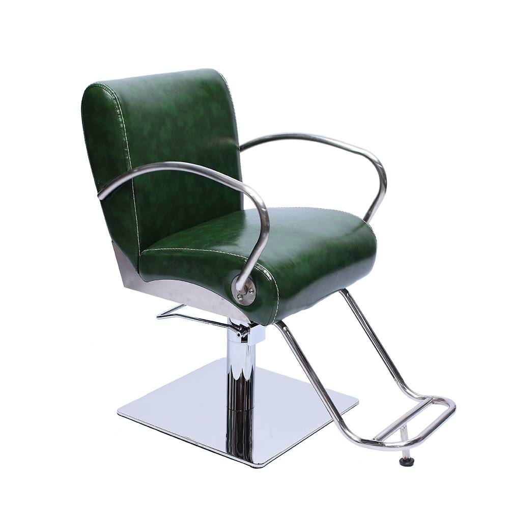 high quality cheap green vintage hair salon barber chair Featured Image