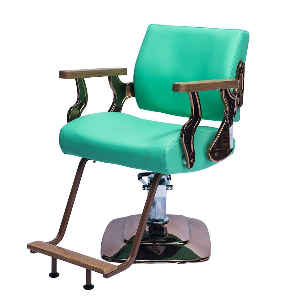 china style leather barber chair styling hydraulic shampoo salon chair