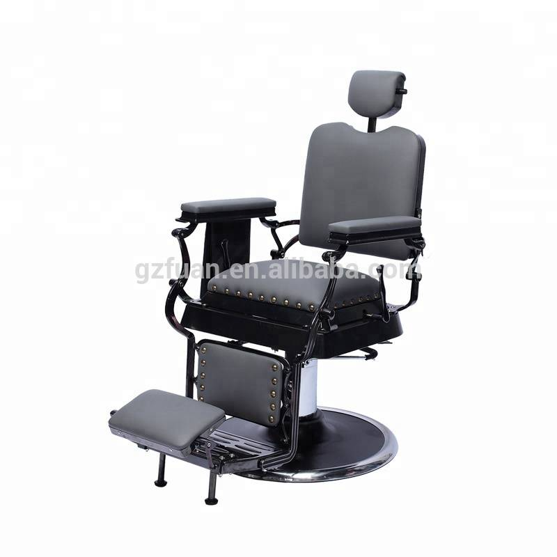 Hair salon rclining backrest heavy duty eyebrow chair barber chair