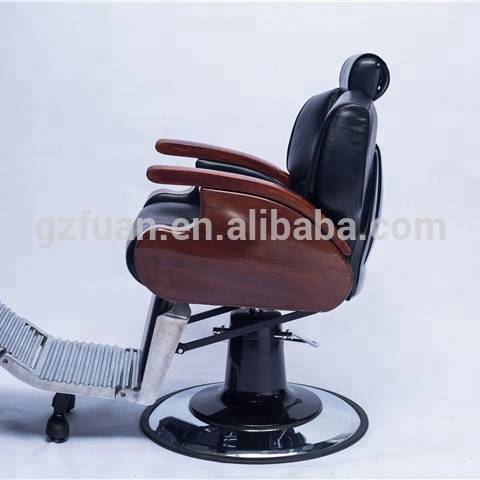 Cheap beauty salon stylist barber vintage chair electric antique styled hair reclining salon styling hairdressing chair