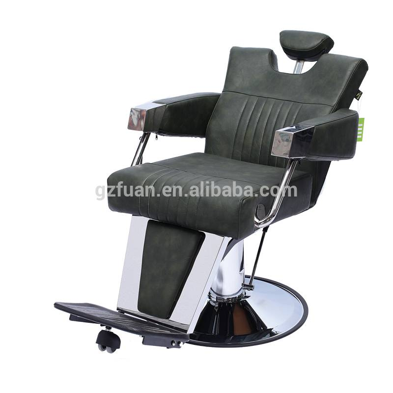 Professional high density sponge barbershop salon furniture hydraulic pump reclining salon hair styling chairs for sale Featured Image