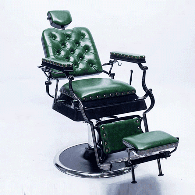 Classic high quality salon furniture manufacture wholesale hydraulic man salon chair vintage antique cheap barber chair for sale
