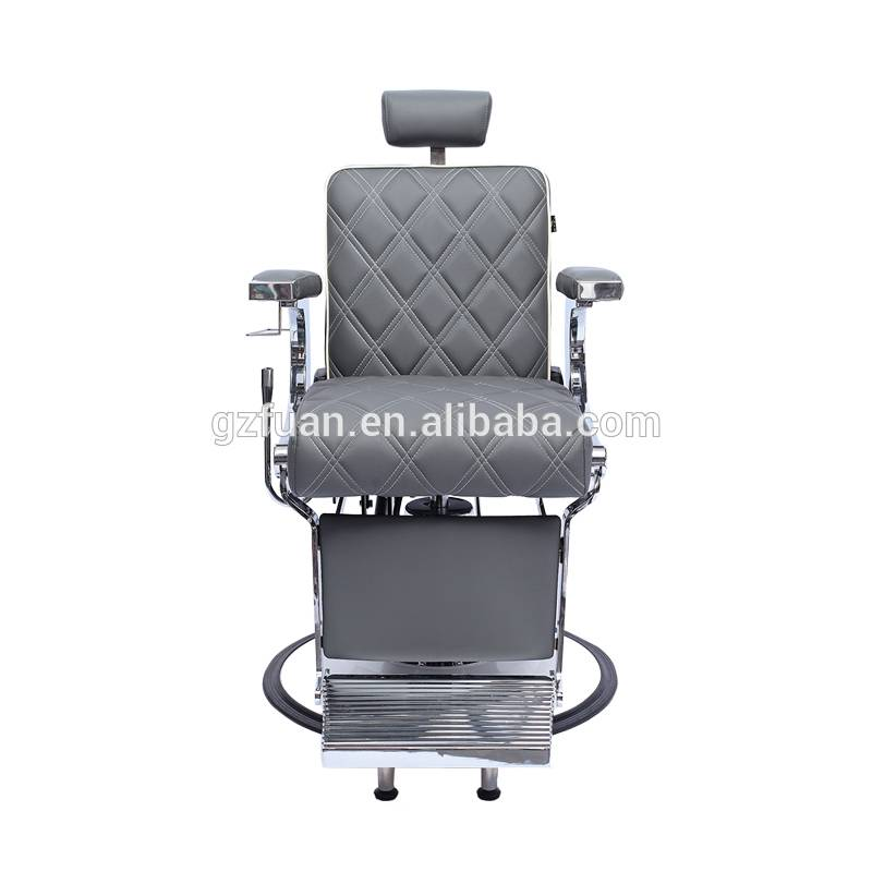Height Adjustable Beauty Comfortable Unique Salon Furniture Wholesale Barber Chair Manufacturer Featured Image