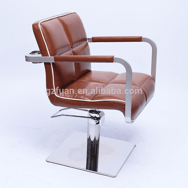 Italian style OEM synthetic leather beauty parlor chair barber styling chair salon Featured Image