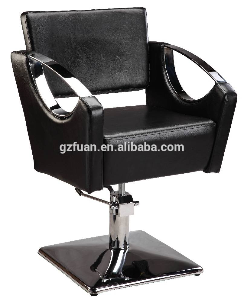 Manufacturer direct supplying black antique hair cutting chair barber styling chair for sale cheap