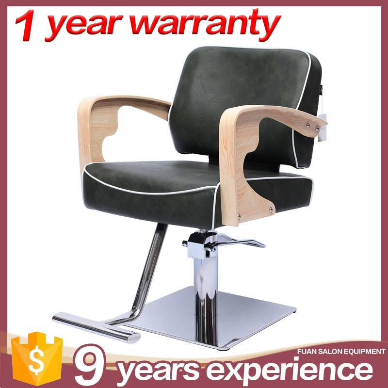 guangzhou hot sale synthetic leather black barber chair Featured Image