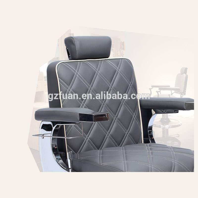 Height Adjustable Beauty Comfortable Unique Salon Furniture Wholesale Barber Chair Manufacturer