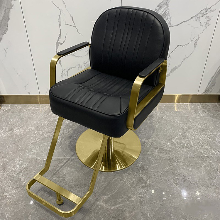 mingyi cheap gold hair salon hydraulic dryer chair styling