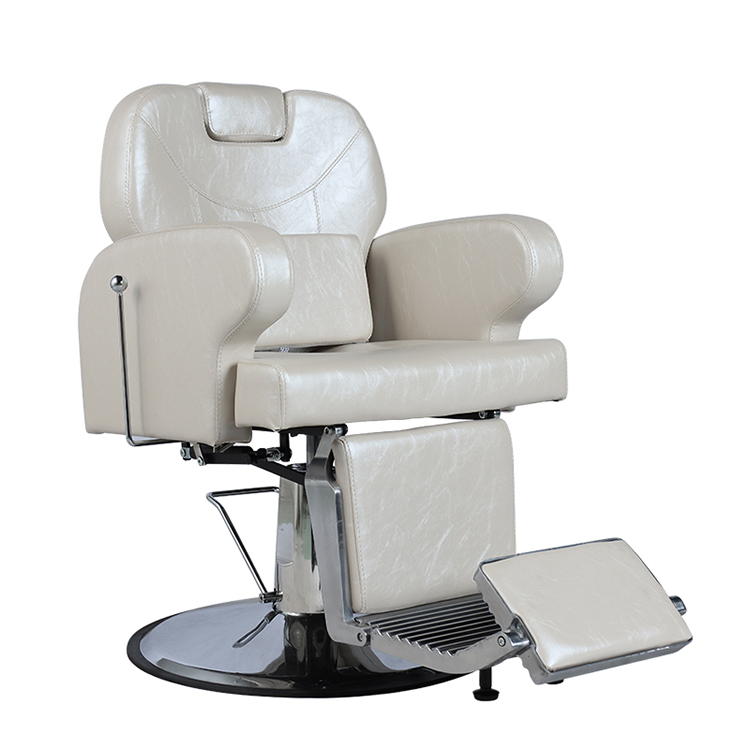 hair care beuty salon furniture white barber chairs
