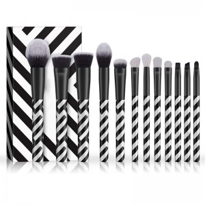 Hot Selling for Marble Black Makeup Brushes -