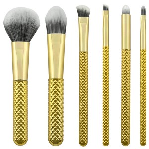 Personlized Products Mermaid Makeup Brushes Set -