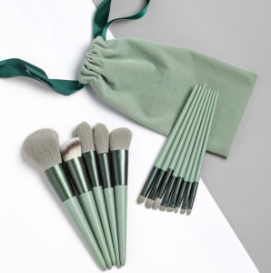 Private label makeup brushes set factory in China