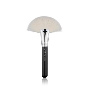 Private logo Cosmetic powder Fan Brush