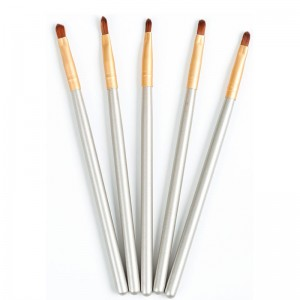 Tilpasset bærbar mini Lip Brush makeup børste Lipstick Brush Tool øyenbryn børste Concealer Brush