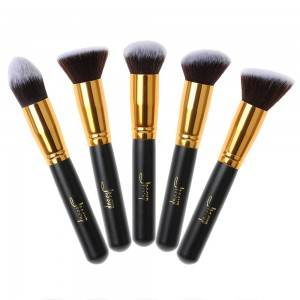 Private label Vegan makeup foundation brushes