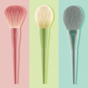 OEM Colorful makeup brushes set factory