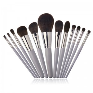 OEM grey makeup brushes set