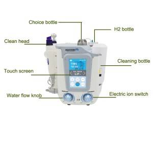 New Aquasure H2 Hydrogen Peel Dermabrasion Water Aqua Facial Beauty Machine