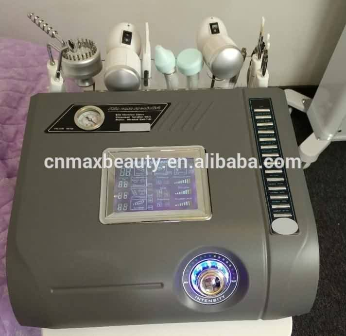 7 in 1 BIO photon light hot cold hammer scrubber diamond dermabrasion ultrasonic multifunctional machine for salon & home use Featured Image