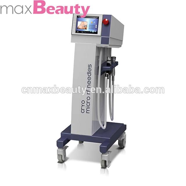Max Beauty Vertical 3 in 1top RF facial+micro-needle+cool treatment beauty machine-M-F907