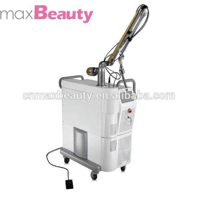 Max Beauty-Medical laser vaginal tightening fractional co2 laser machine with 40w rf metal tube MCO2V