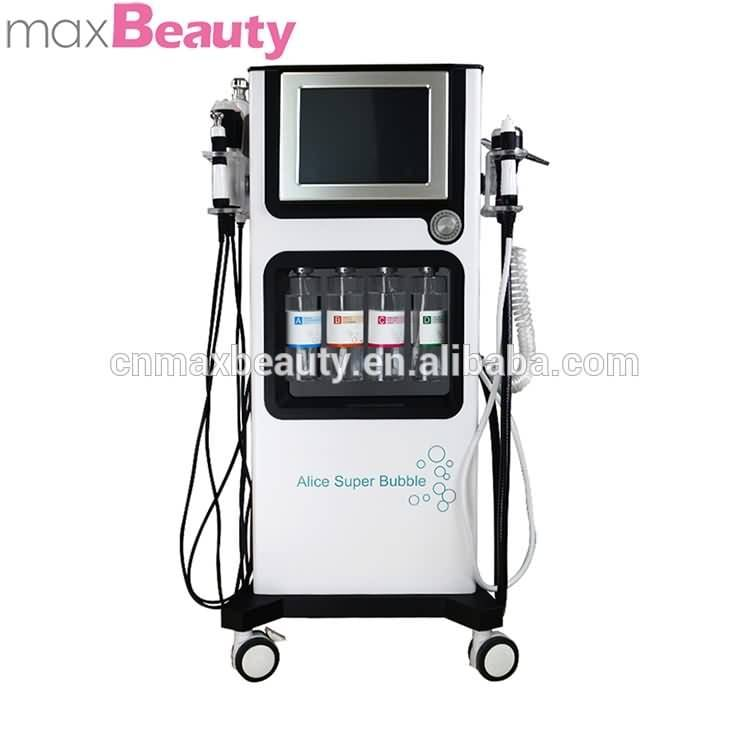 Factory bubble cleaner skin rejuvenation acne therapy water oxygen facial machine water peel dermabrasion