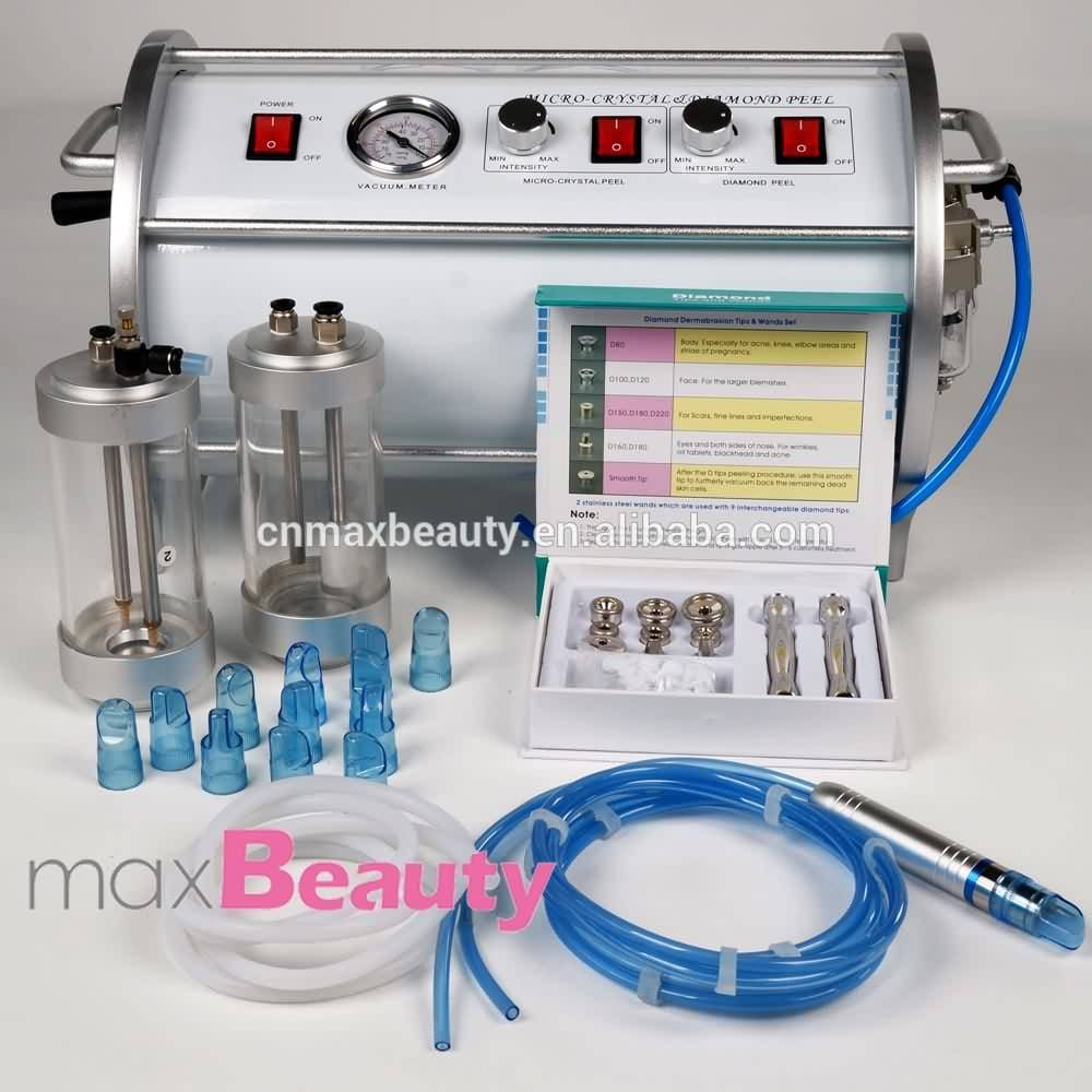 2in1 portable micro-crystal&diamond dermabrasion beauty equipment-M-P9-salon use