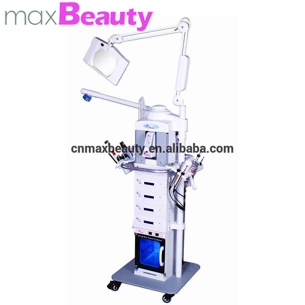 high quality salon used 19in1 multifunctional oxygen facial peeling machine