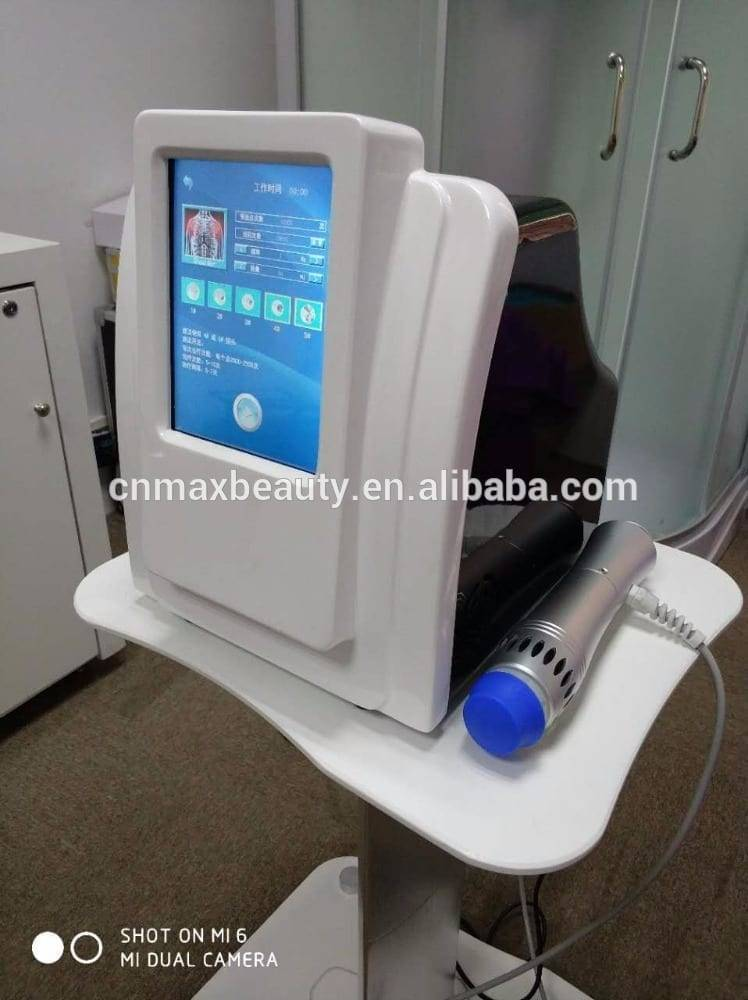 desktop shock wave therapy equipment muscle pain relief shock wave for home and clinic use